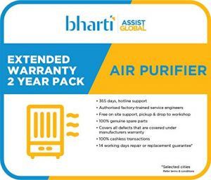 Bharti Assist 2 Year Extended Warranty for Air Purifier Between Rs. 1 to Rs. 10000
