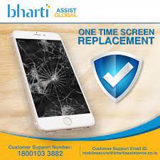 Bharti Assist  6 Months Screen Damage Protection for Mobile between Rs. 12001 to Rs. 16000