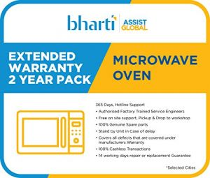 Bharti Assist 2 Year Extended Warranty for Microwave Oven Rs.1 to Rs.7000