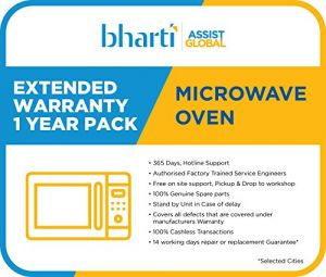Bharti Assist 1 Year Extended Warranty for Microwave Oven Rs.1 to Rs.7000